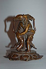 Bronze figure of Shoten Kangiten, Japan, 19th century?