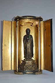 Zushi, Amida Buddha, Japan, 18th century