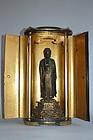 Zushi, Amida Buddha, Japan, 18th century