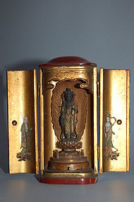 Zushi with Kannon, Japan, Edo period