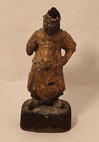 Ming Dynasty Guardian King figure