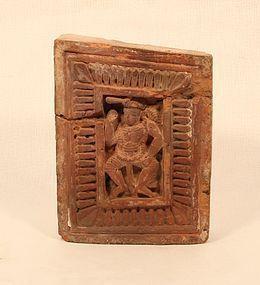 Bengali terracotta Temple brick 17th c 18th c