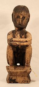 Philippines early 19th c Bulul Rice harvest God sculpture
