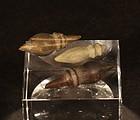 Chavin 1200 BC- 200 BC 3 stone perforators