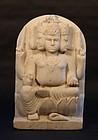 18-19thc Hindu marble temple statue of Brahma