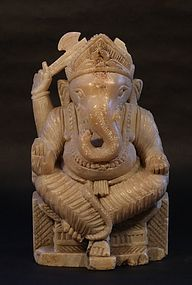 Antique Hindu statue of Lord Ganesha