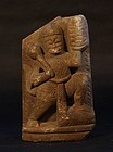 19thc Hindu stone figure of the Monkey God Hanuman