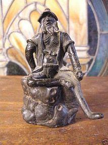 Muromachi period 1336-1573 AD bronze okimono
