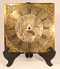 18th c Whitworth of Lussley clock face