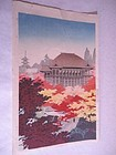 """Kiyomizu Temple "" by Kenji Kawai"