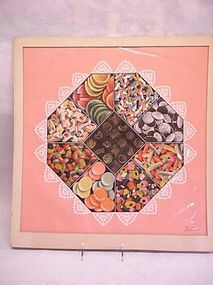 "Cyrus Seymour painting of a "" box of candy"""