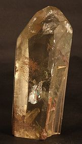 Tall Quartz point with various inclusions