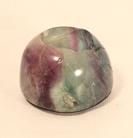 fluorite votive/tealight holders large almost 2 pounds each