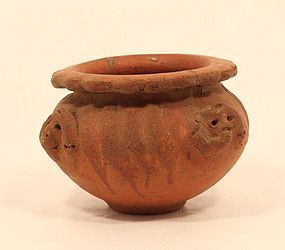 Central American Pre Columbian Terracotta Pot