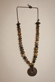 Chavin C1200BC-200BC Steatite and Stone Necklace