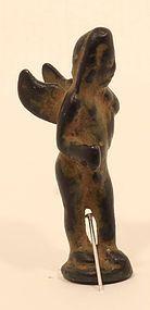 Roman bronze figure of Eros God of Love