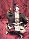 Antique 19th c Japanese Samurai doll