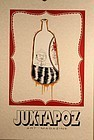 Barry McGee Juxtapoz Art Print Untitled Man in A Bottle c 2000