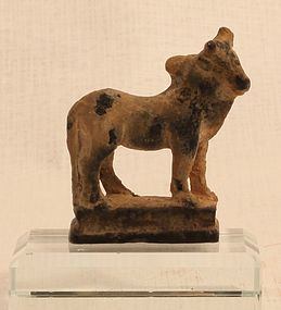 Roman Bronze Zebu votive statuette in the Classical style