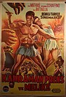 1961 The Minotaur Turkish Lithograph Poster with Bob Mathias