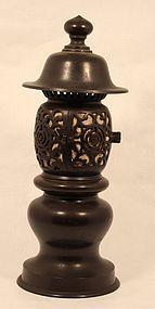 Japanese Temple Toro - Lantern in Bronze
