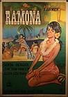 Turkish Lithograph Movie poster Ramona