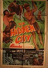 Bomba The Hidden City C 1950 Lithograph poster