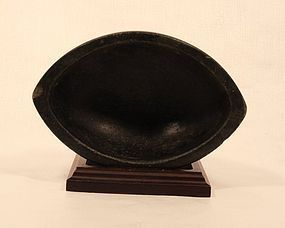 Hindu Indian Black stone Mortar Beautiful Shape and Finish