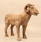 Han Dynasty Funerary Model of a Ram