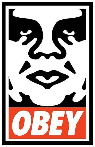 Shepard Fairey Signed Obey print