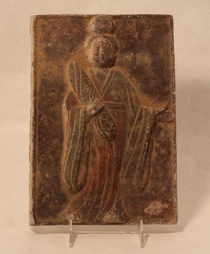 Chinese Tang Dynasty  Terracotta Tomb Tile