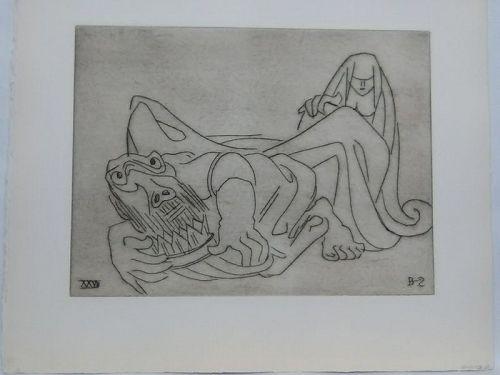 """Ben-Zion """"Gilgamesh"""" XXVII 1966 v0"""