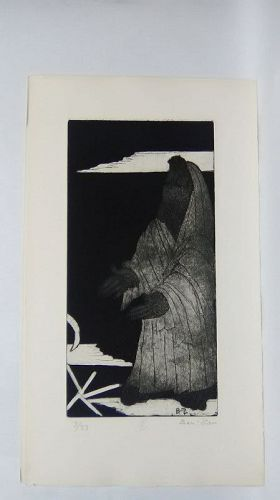 "Ben Zion "" The Life of A Prophet"" Etching II "" FollowingThe call"""