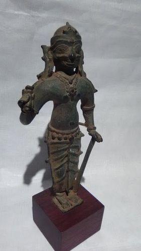 16thc Hindu Figure of a South India Folk Hero