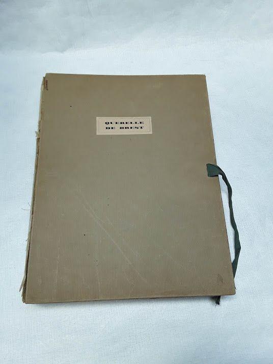 Querelle de Brest Limited edition Homo Erotic Book