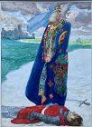 """HEINRICH LEFLER - """"OSTRUD AND TELRAMUND"""" FROM LOHENGRIN, CIRCA 1914"""