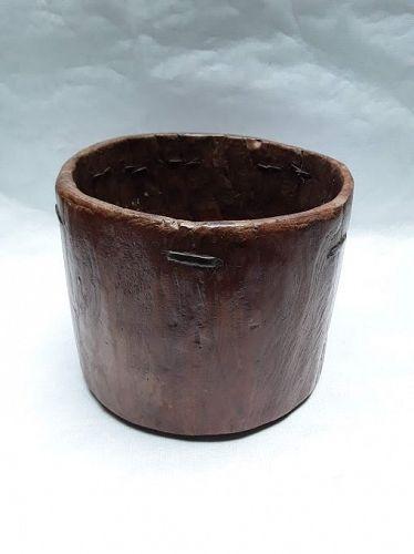 Antique South East Asian Tree Trunk planter pot