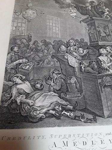 """William Hogarth"" Credulity, Superstition and Fanaticism Heath ed"