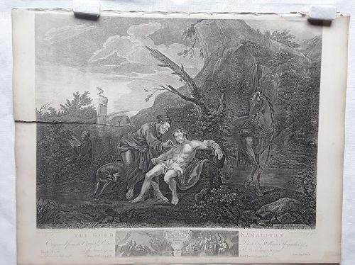 """William Hogarth"" The Good Samaritan Heath ed"