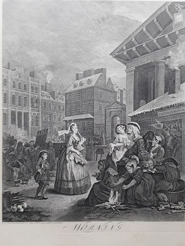 """William Hogarth"" The Times of the Day suite Heath ed"