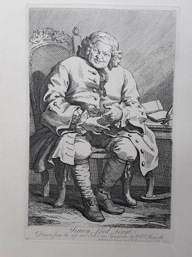 """""""William Hogarth"""" Simon Lord Lovat Heath ed"""