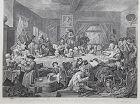 """William Hogarth"" Four Prints on an Election suite Heath ed"
