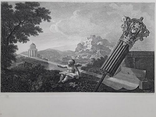 """William Hogarth""Frontispiece to Dr. Brook Taylor's Perspecti Heath ed"