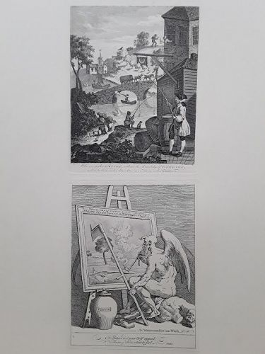 "William Hogarth ""Frontispiece to Kirby's 'Perspective Made Easy'"""