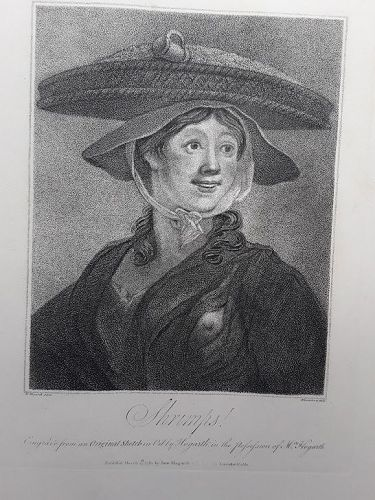 """William Hogarth"" The Shrimp Girl Heath ed"