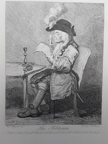 """William Hogarth"" The Politician Heath ed"