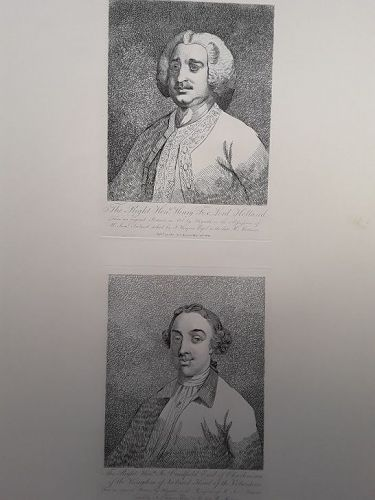 """William Hogarth"" Henry Fox, Lord Holland Heath ed"