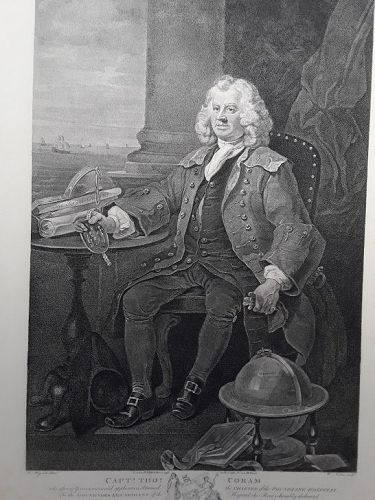 """William Hogarth"" Captain Thomas Coram Heath ed"