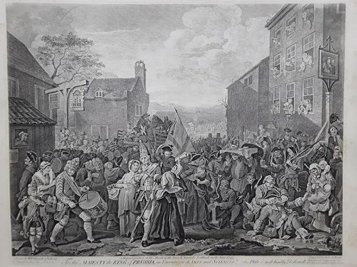 """William Hogarth"" The March to Finchley Heath ed"