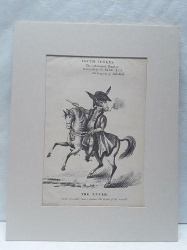 Locum Tenens: rode by Sir CLOD A.S.S.